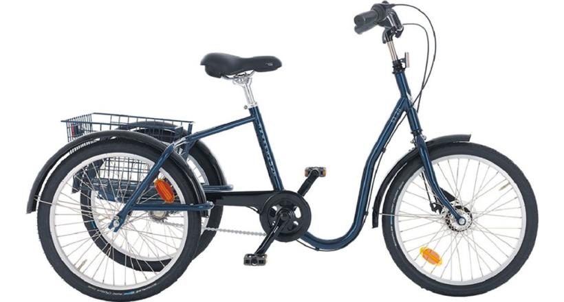 3 hjulig elcykel