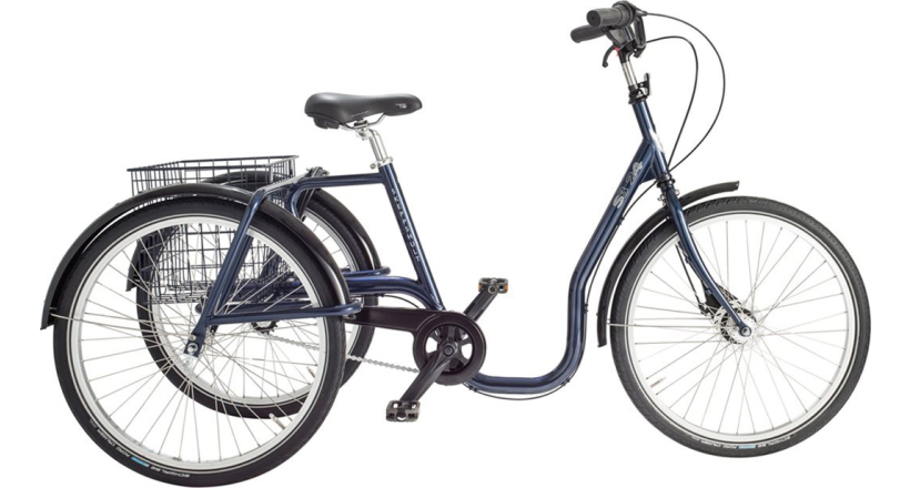 """Skeppshult Trehjuling S3 24"""" Standard, 7 vxl."""