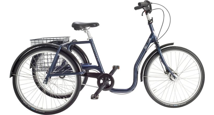"""Skeppshult Trehjuling S3 24"""" Standard, 3 vxl."""