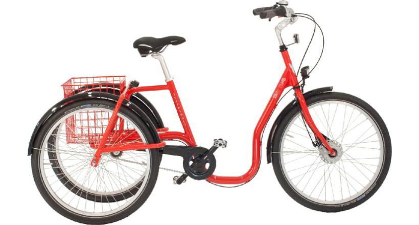 """Skeppshult Trehjuling S3 24"""" Comfort, 3 vxl."""